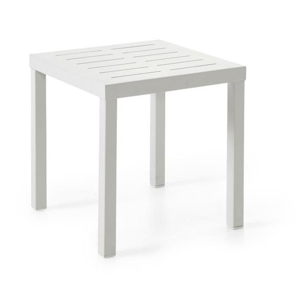 Bílý zahradní stolek Brafab Belfort, 60x50cm