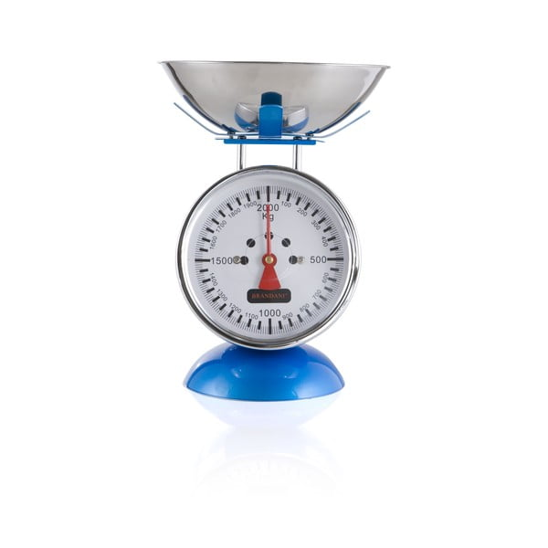 Kuchyňská váha, modrá