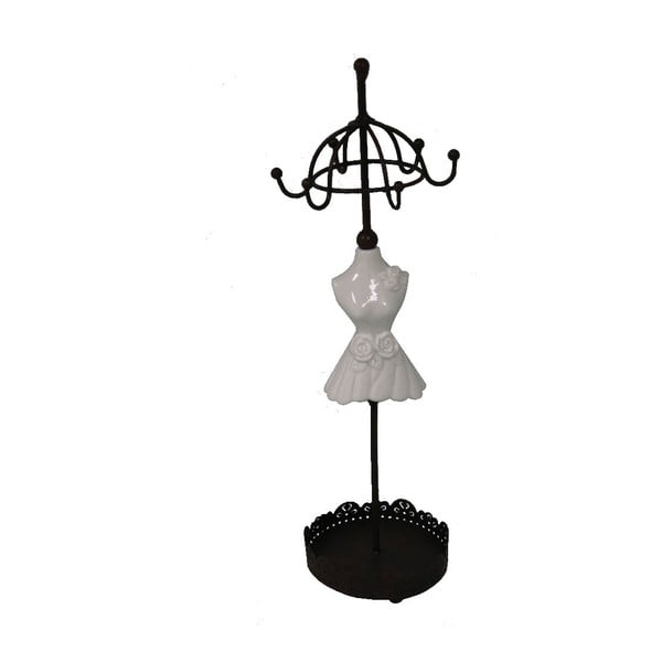 Stojan na šperky s kovovým podstavcom Antic Line Mannequin