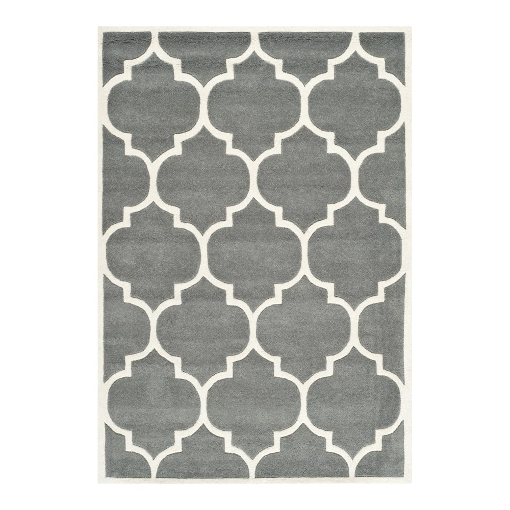 Ručně vyšívaný koberec Safavieh Morton, 243 x 152 cm