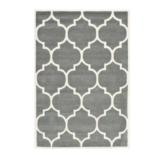 Ručně vyšívaný koberec Morton, 152x243 cm