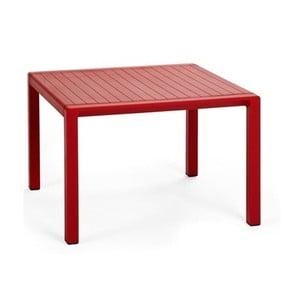 Červený zahradní odkládací stolek Nardi Garden Aria, 100x60cm