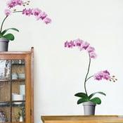 Autocolant pentru perete Orchidee Roz