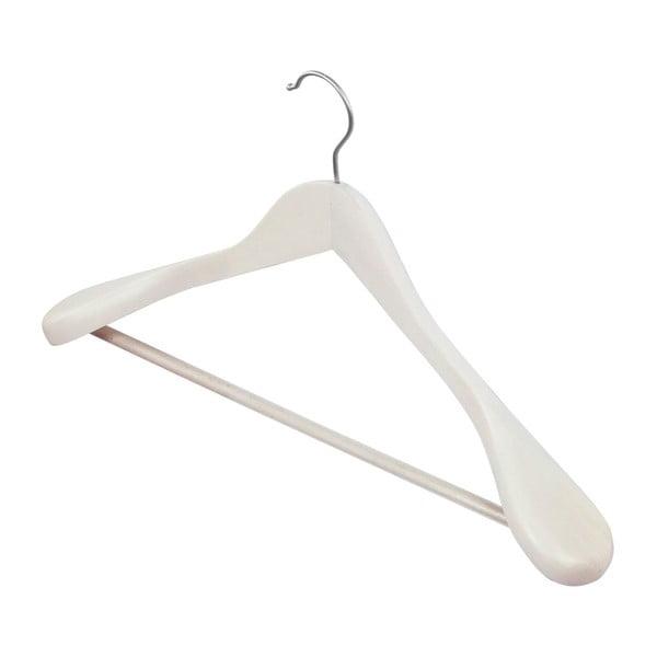 Clothing fehér vállfa fából - Domopak