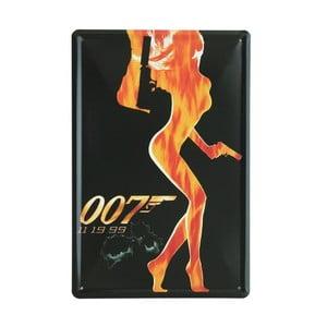 Cedule 007, 20x30 cm
