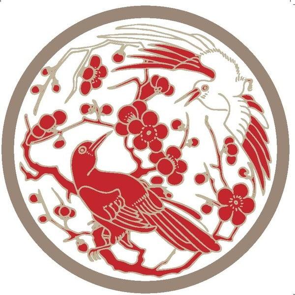 Sada 2 prostírání Red Birds