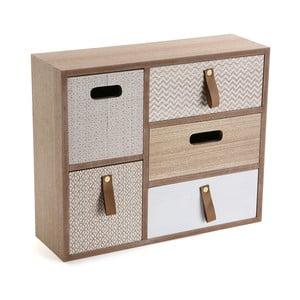 Cutie de bijuterii din lemn Versa Button
