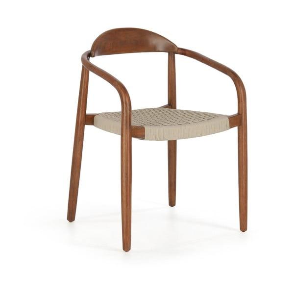 Židle z eukalyptového dřeva La Forma Glynis