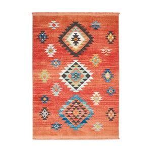 Koberec Nourison Navajo Red, 130x66 cm
