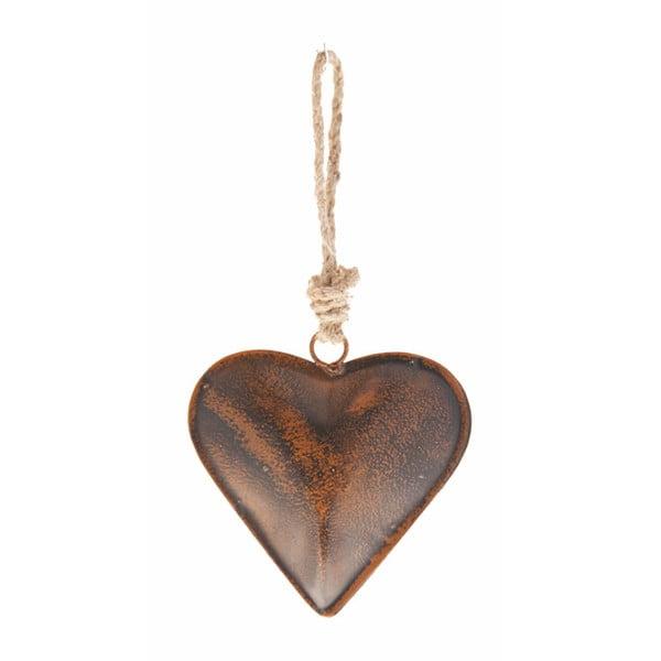 Decorațiune suspendată în formă de inimă Antic Line, 27 cm
