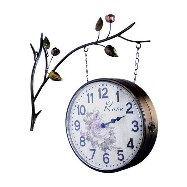 Oboustranné závěsné hodiny Clock Station