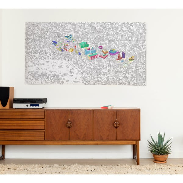 Omalovánka OMY Los Angeles XXL (180 x 100 cm)