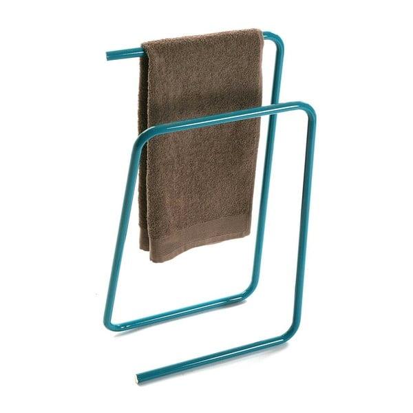 Zelený kovový stojan na ručníky Versa