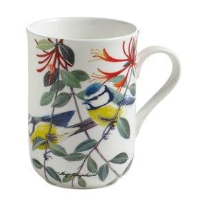 Hrnek z kostního porcelánu Maxwell&Williams Birds Chickadees, 350ml