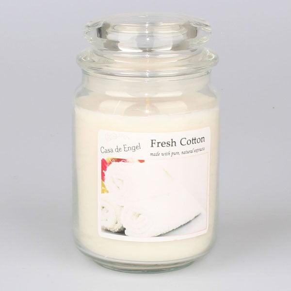 Vonná svíčka s vůní čerstvé bavlny Dakls