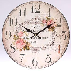 Dřevěné hodiny Rose 1929