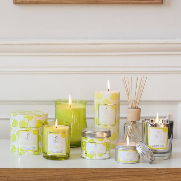 Čajové svíčky Spring Couture 8 ks, aroma limetka