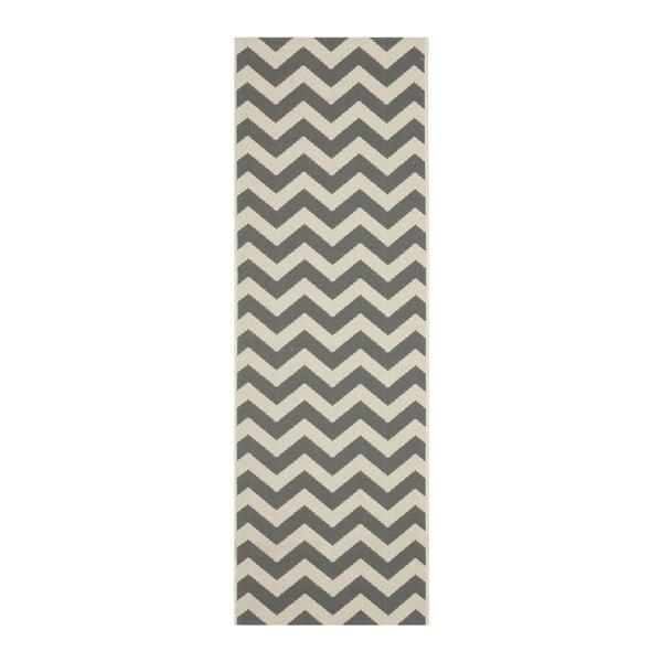 Koberec Sardinia Grey, 68x243 cm