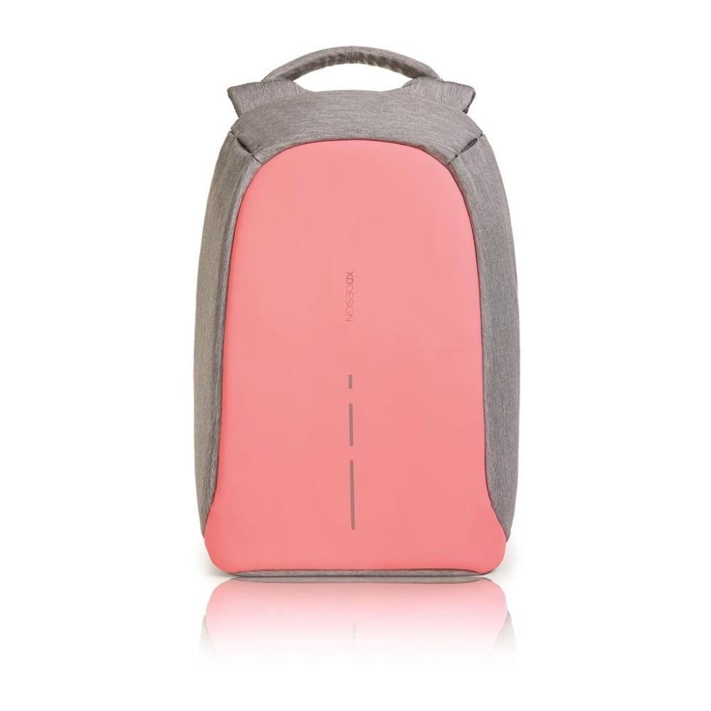Růžový bezpečnostní batoh XD Design Bobby Compact 8967f9c1af