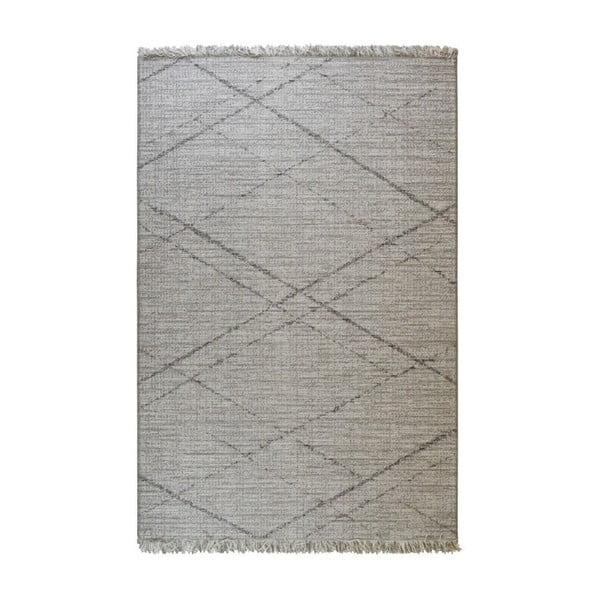 Šedý venkovní koberec Floorita Gipsy, 194 x 290 cm