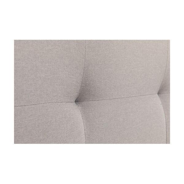 Šedá dvoulůžková postel Chez Ro Skagen,160x200cm