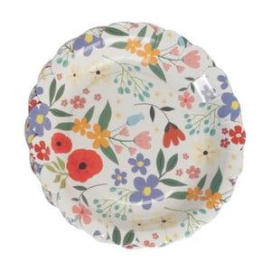 Sada 8 papírových talířů Rex London Summer Meadow