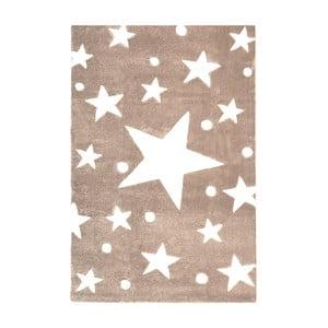 Béžový dětský koberec Happy Rugs Star Constellation, 120x180cm