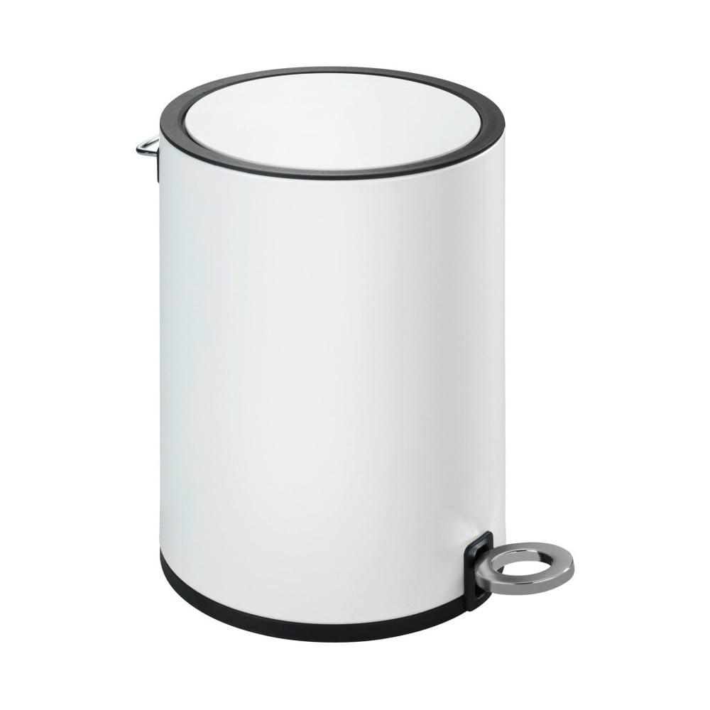 Bílý odpadkový koš Wenko Monza Wenko