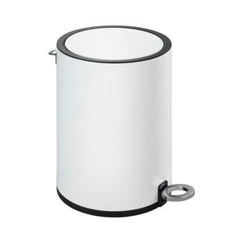 Coș deșeuri Wenko Monza, alb imagine