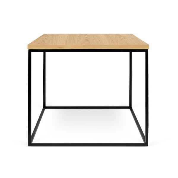 Konferenční stolek s černými nohami TemaHome Gleam, 50 cm