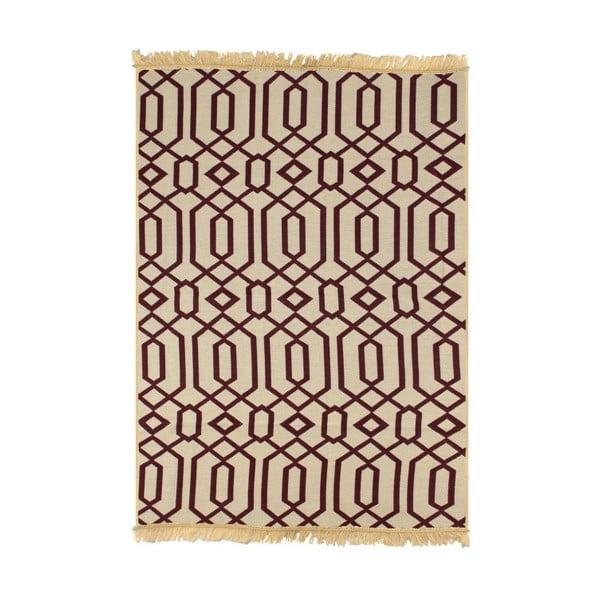 Červenobéžový koberec Ya Rugs Kenar, 120x180cm