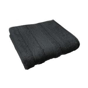 Osuška Ziczac 50x100 cm, černá