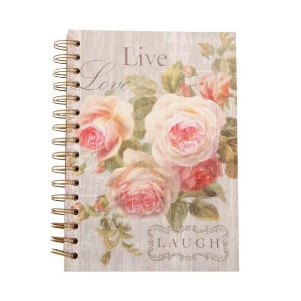 Zápisník Love Roses