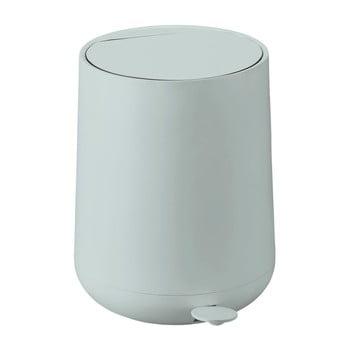Coș de gunoi cu pedală Zone Nova, 5 l, verde deschis imagine