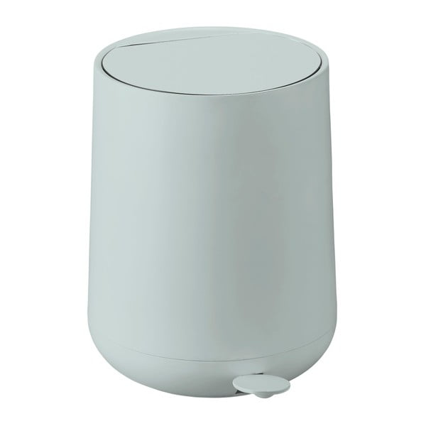 Coș de gunoi cu pedală Zone Nova, 5 l, verde deschis