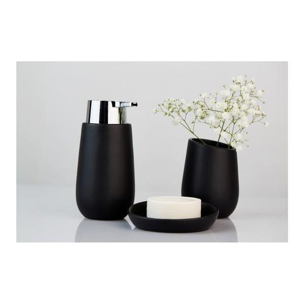 Černý keramický dávkovač mýdla Wenko Badi