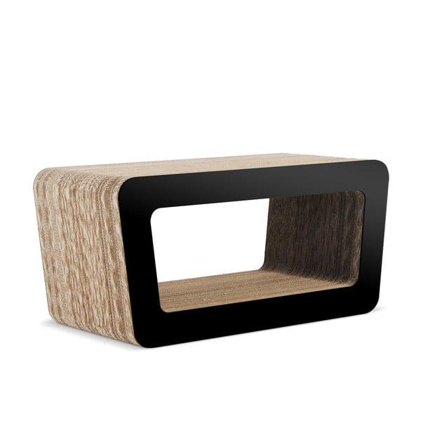 Kartonový televizní stolek Cinema Black