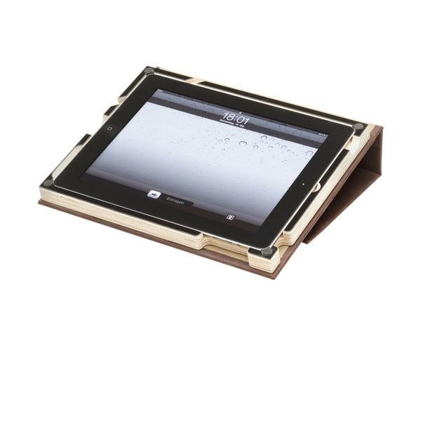 Kožený business obal G2 na iPad 2/3/4, černý rám