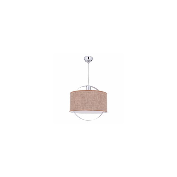 Závěsné světlo Polo Brown, 40 cm
