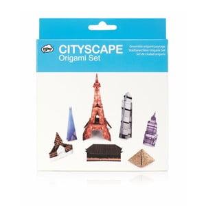 Set origami skládanek npw™ Origami Cityscape
