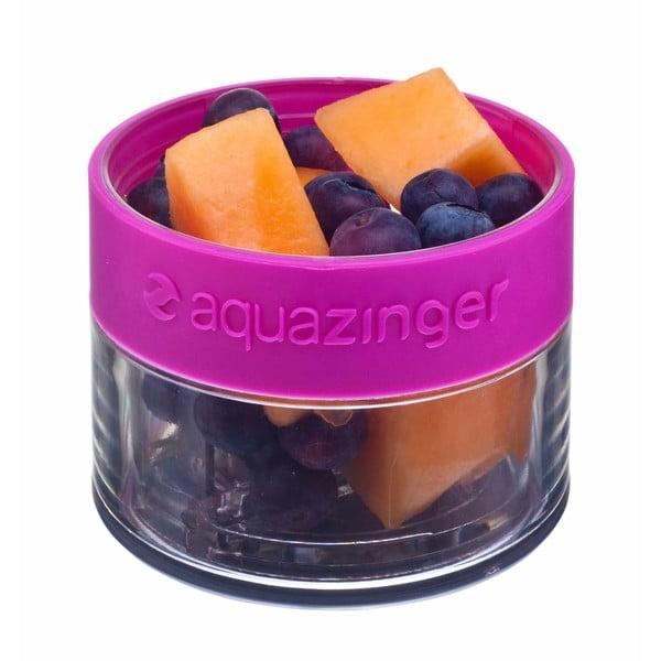 Aquazinger, lahev na vodu a ovoce, zelená