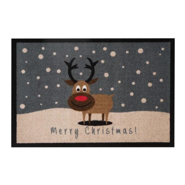 Preș Zala Living Merry Christmas Reindeer, 40 x 60 cm