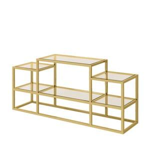 Konzolový stolek ve zlaté barvě Artelore Alvar