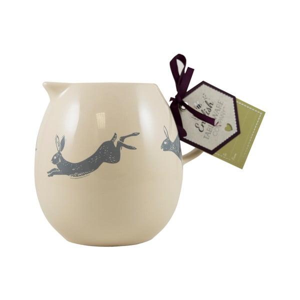 Krémový kameninový džbán David Mason Artisan, 250 ml