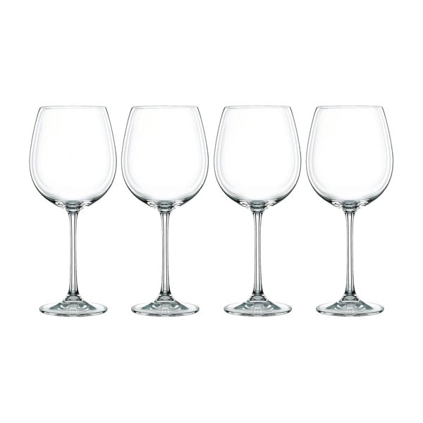 Sada 4 sklenic z křišťálového skla Nachtmann Vivendi Premium Bordeaux Set, 727 ml