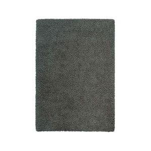 Koberec Super Shaggy 80x150 cm s 5 cm dlouhým vlasem, šedý