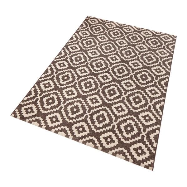 Hnědý koberec Schöngeist & Petersen Diamond Ornamental, 133 x 195 cm