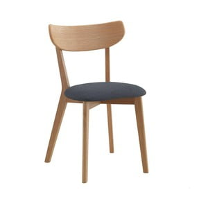 Set 2 scaune cu aspect de stejar Folke Sanna