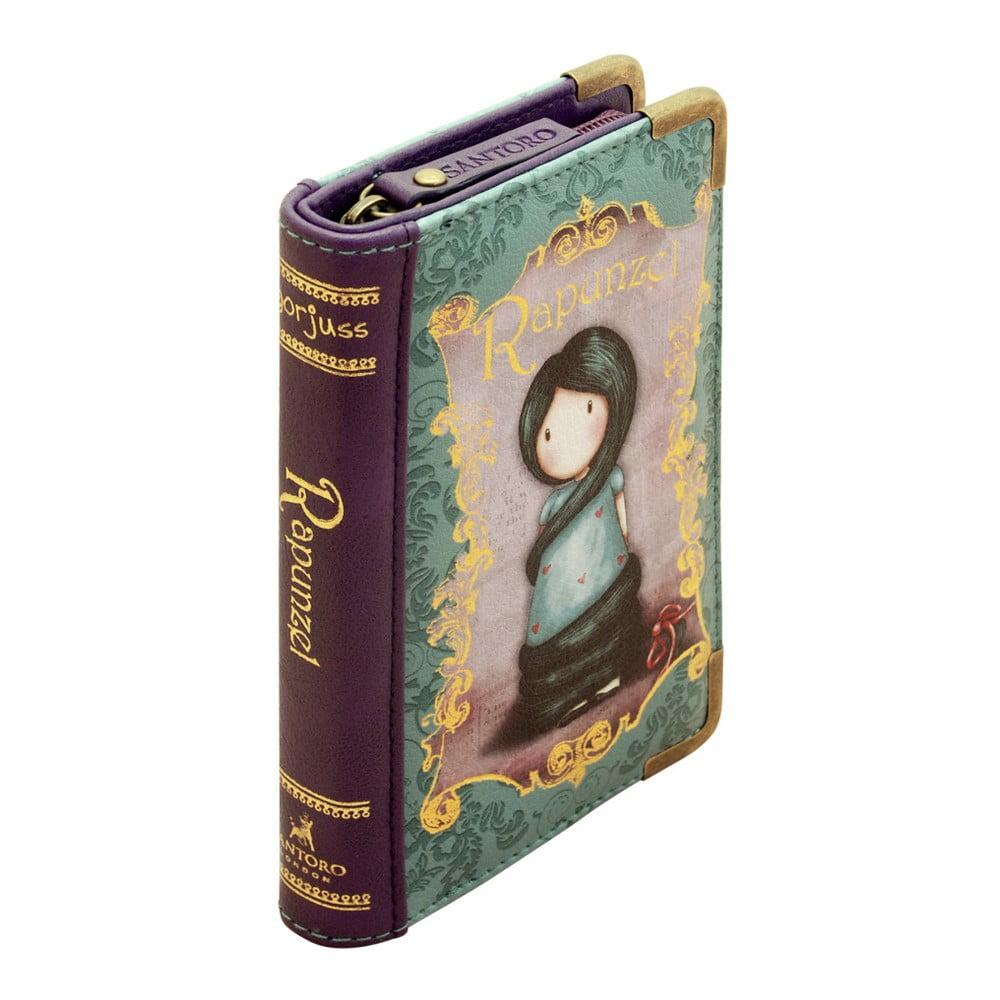 Dámská peněženka ve tvaru knížky Gorjuss Rapunzel, 10 x 15 cm