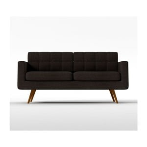 Sofa New York pro tři, hnědé